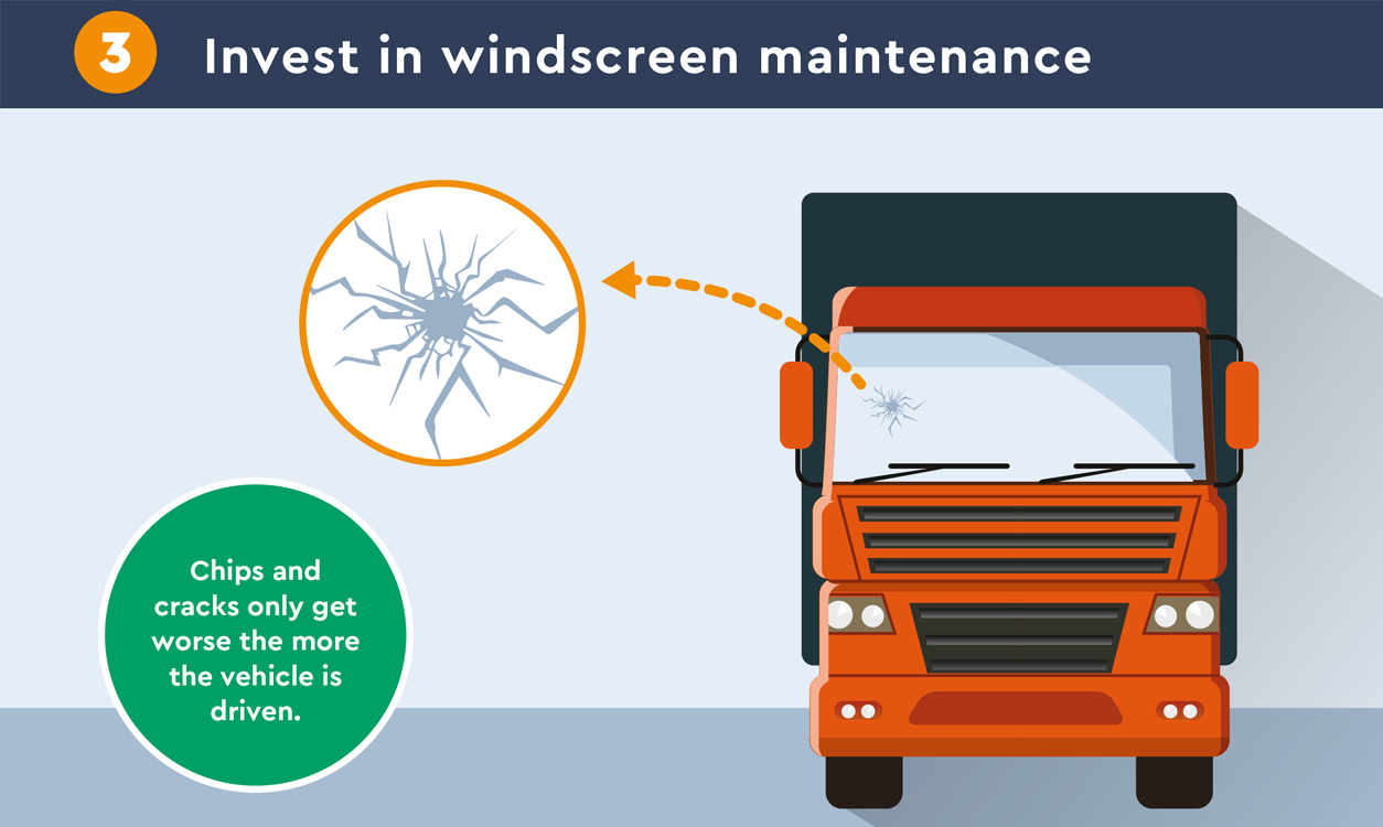 invest in windscreen maintenance
