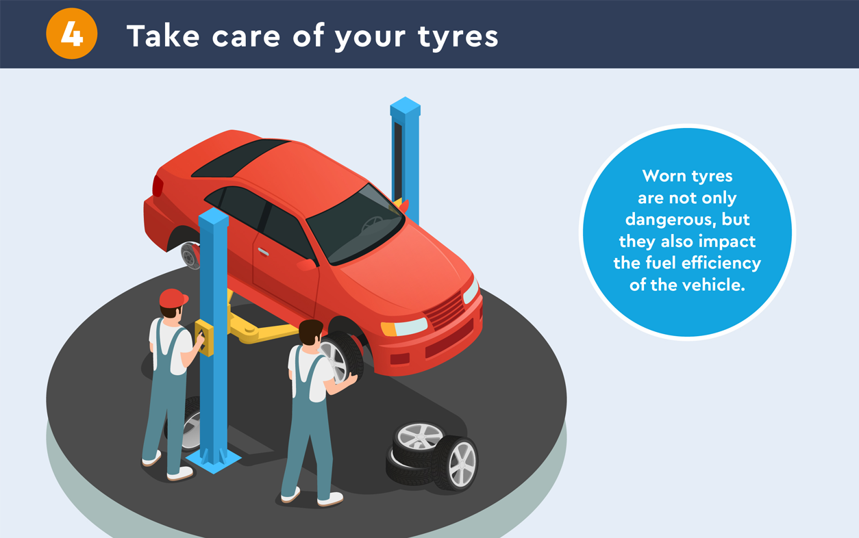 take care of your tyres