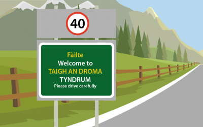 Guide to Gaelic Road Signs