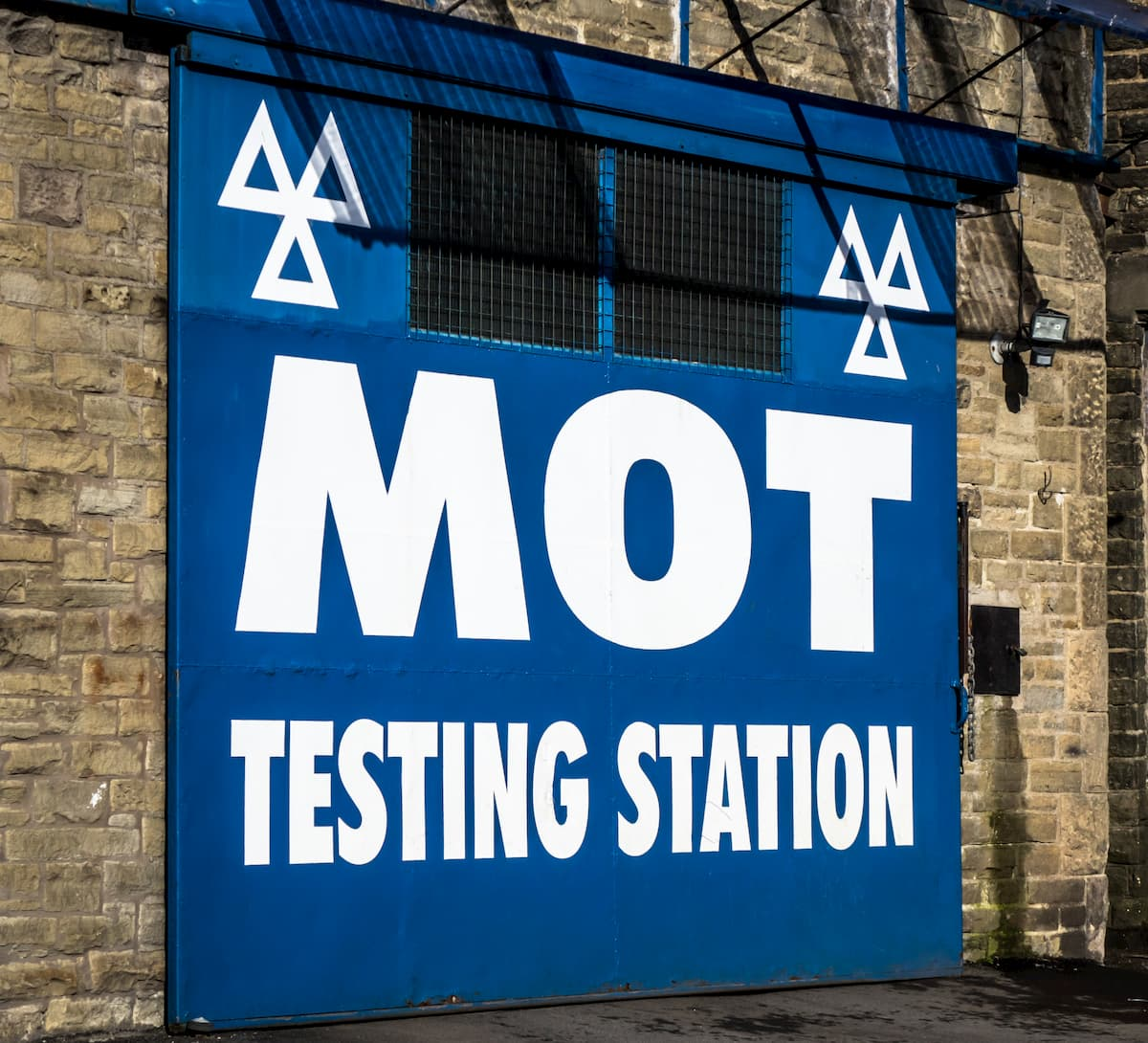MOT testing centre