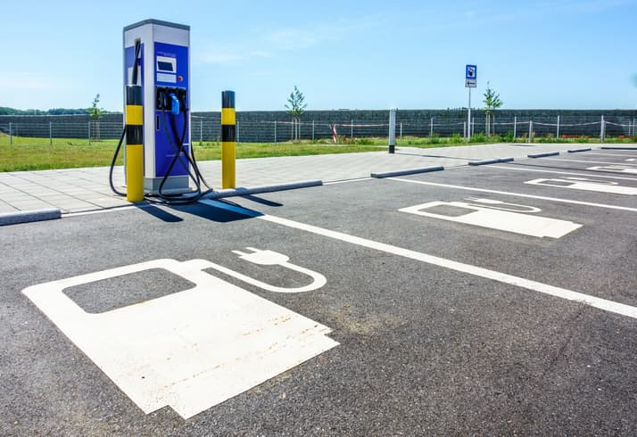 electric vehicle charging point